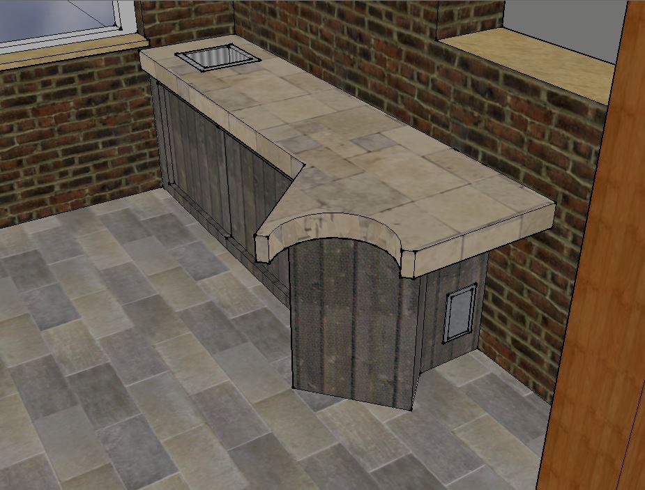 Outdoor Küche Reihenhaus : Outdoorküche projekt  grillforum und bbq