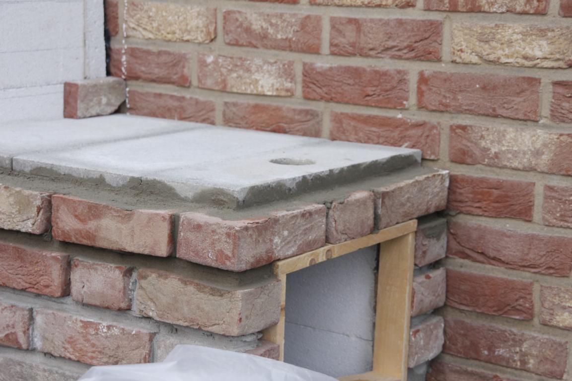 Outdoorküche Stein Gate : Outdoorküche projekt  seite grillforum und bbq