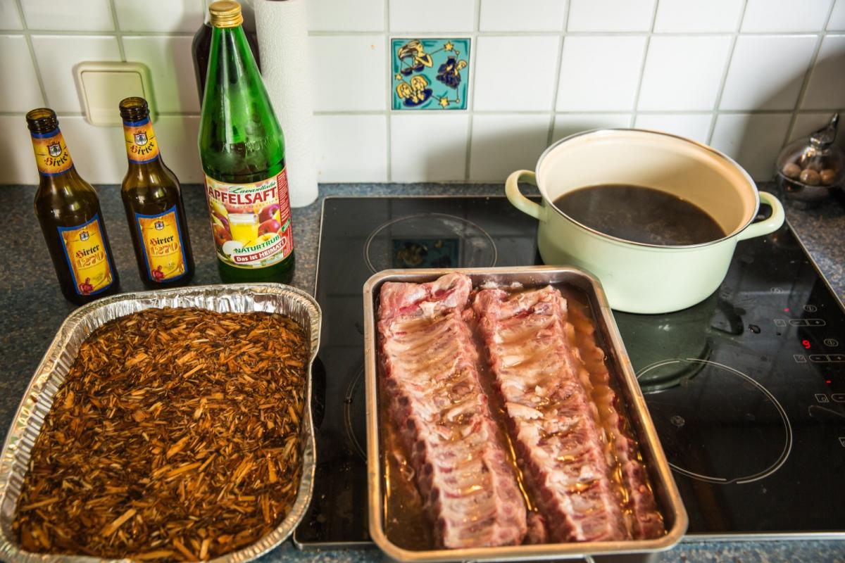 Spareribs Gasgrill Broil King : Spare ribs premiere auf broil king sovereign bildbericht