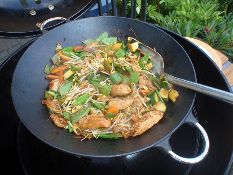 Wok Für Gasgrill : Einen outdoorchef gasgrill als wok grill grillforum und bbq www