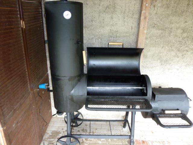 dreh grill spiess im smoker grillforum und bbq www. Black Bedroom Furniture Sets. Home Design Ideas
