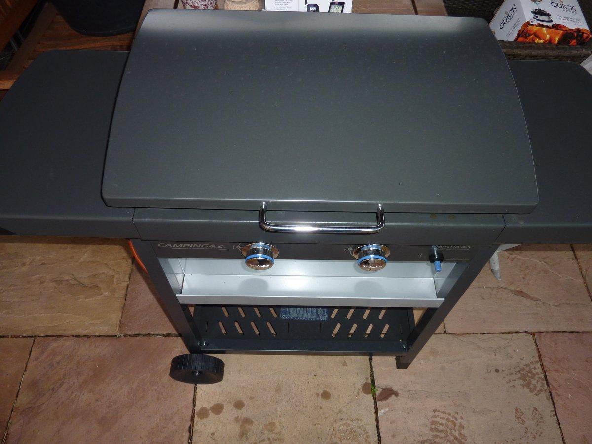Erledigt campingaz plancha ex grillforum und bbq for Camping gaz barbecue plancha