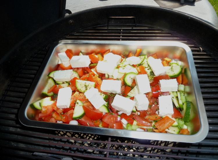 Leichte Sommerküche : Leichte sommerküche grillgemüse mit schafskäse grillforum und