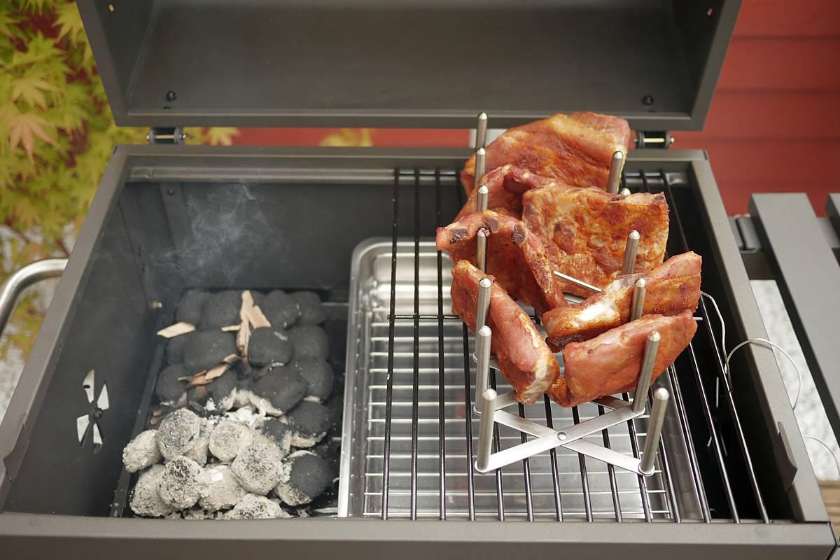 Tepro Toronto Holzkohlegrill Indirektes Grillen : Mein ersten spareribs und was schief gelaufen ist grillforum und