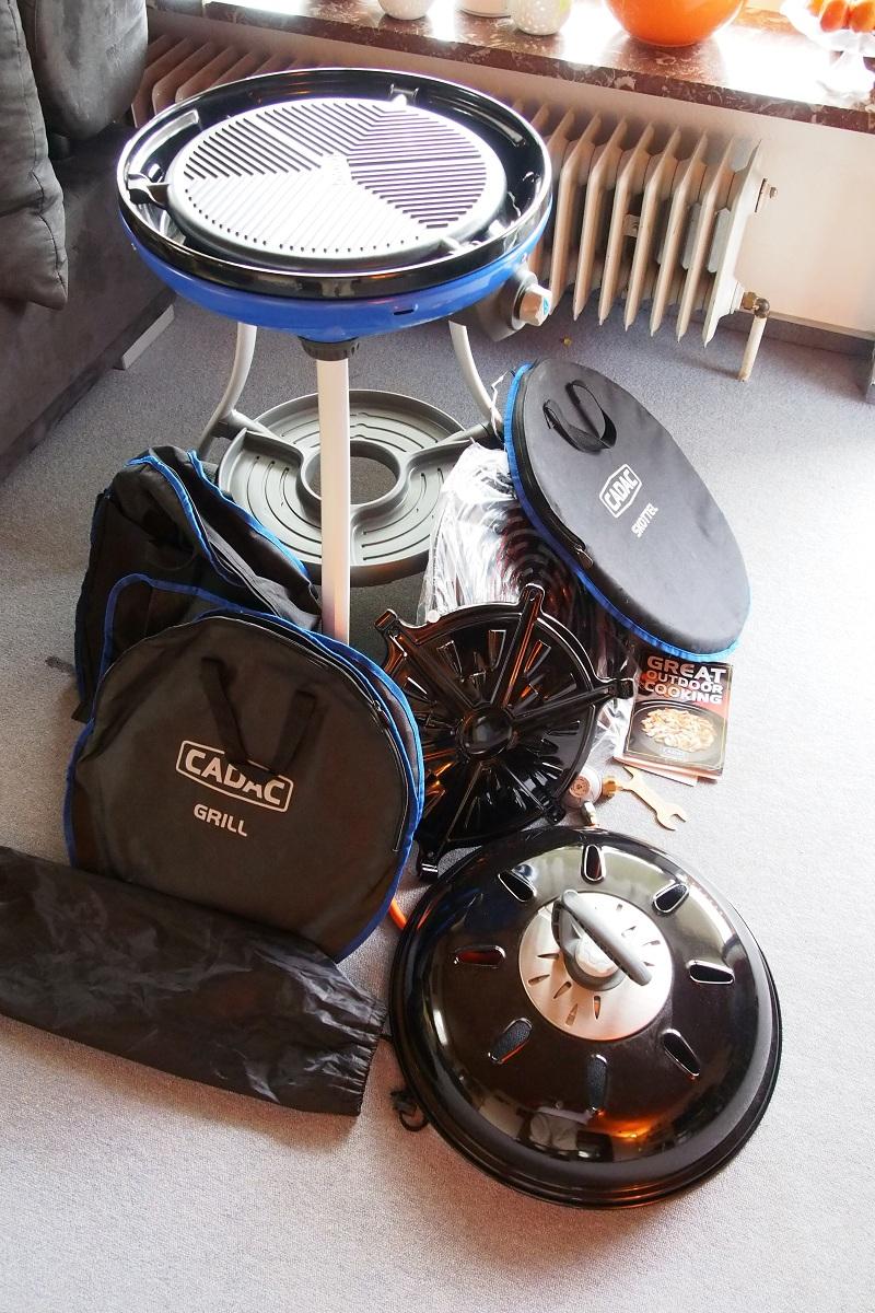 Cadac Carri Chef Deluxe.Verkauft Cadac Carri Chef Deluxe Mit Gasregler Aus April 2012