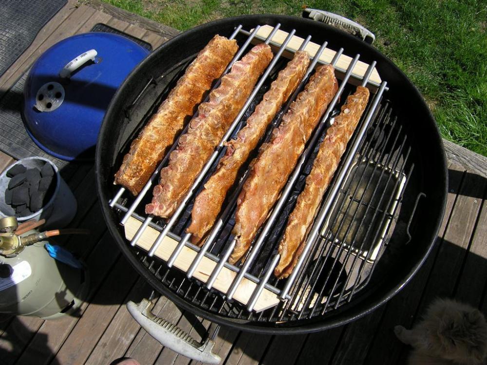 Teppich Ikea Fussbodenheizung ~ Ribs + Vorbereitungen  Grillforum und BBQ  www