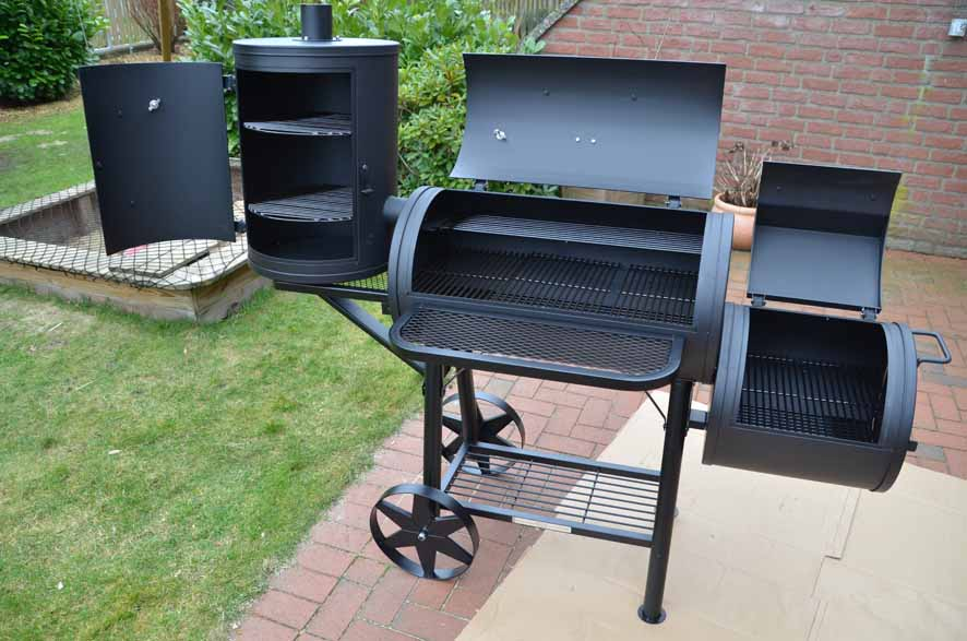smoker taino 110kg grillforum und bbq. Black Bedroom Furniture Sets. Home Design Ideas
