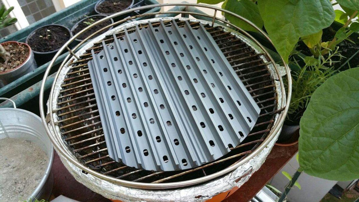 Rauchfreier Holzkohlegrill Reinigen : Lotusgrill der rauchfreie holzkohlegrillseite 4 grillforum und