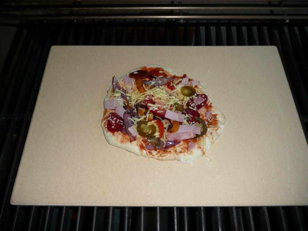 Weber Holzkohlegrill Pizzastein : Weber pizzastein rechteckig vs schamottstein grillforum und
