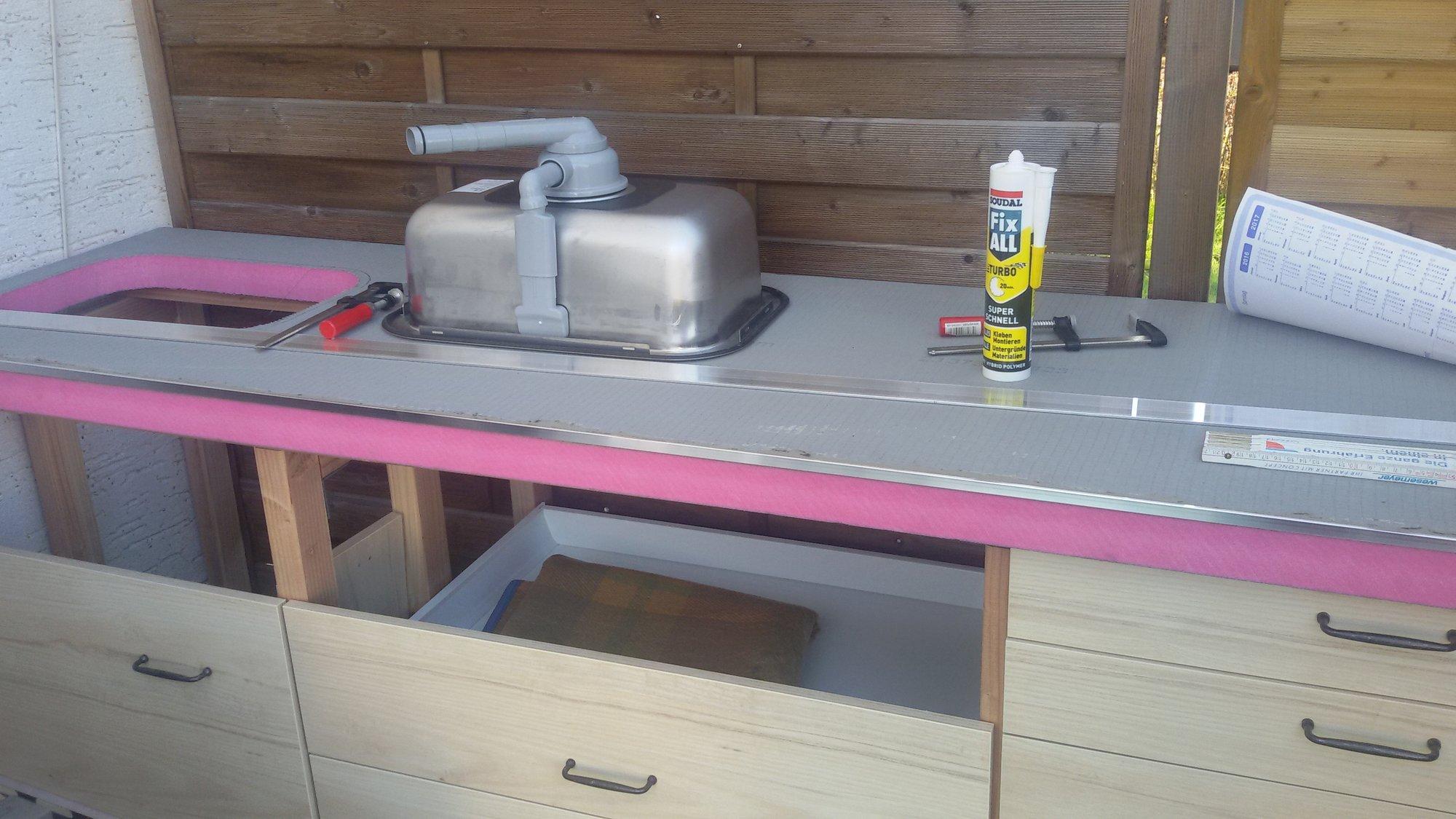 Platte Für Außenküche : Außenküche maximum minimalistisch seite grillforum