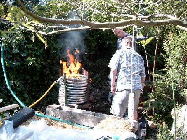 grill mit einer poolheizung grillforum und bbq www. Black Bedroom Furniture Sets. Home Design Ideas