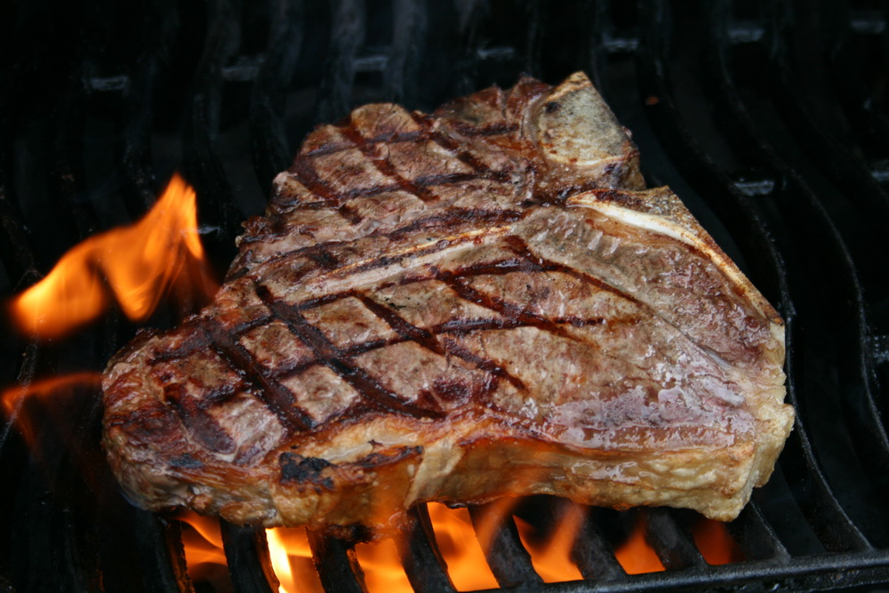 Grilled Porterhouse Steak Recipe — Dishmaps