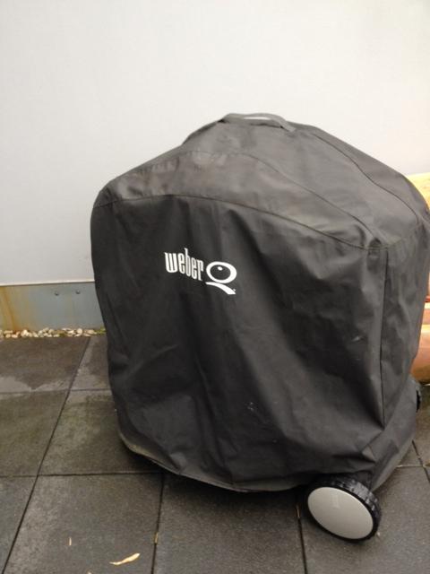 update weber q200 premiumwagen abdeckhaube. Black Bedroom Furniture Sets. Home Design Ideas