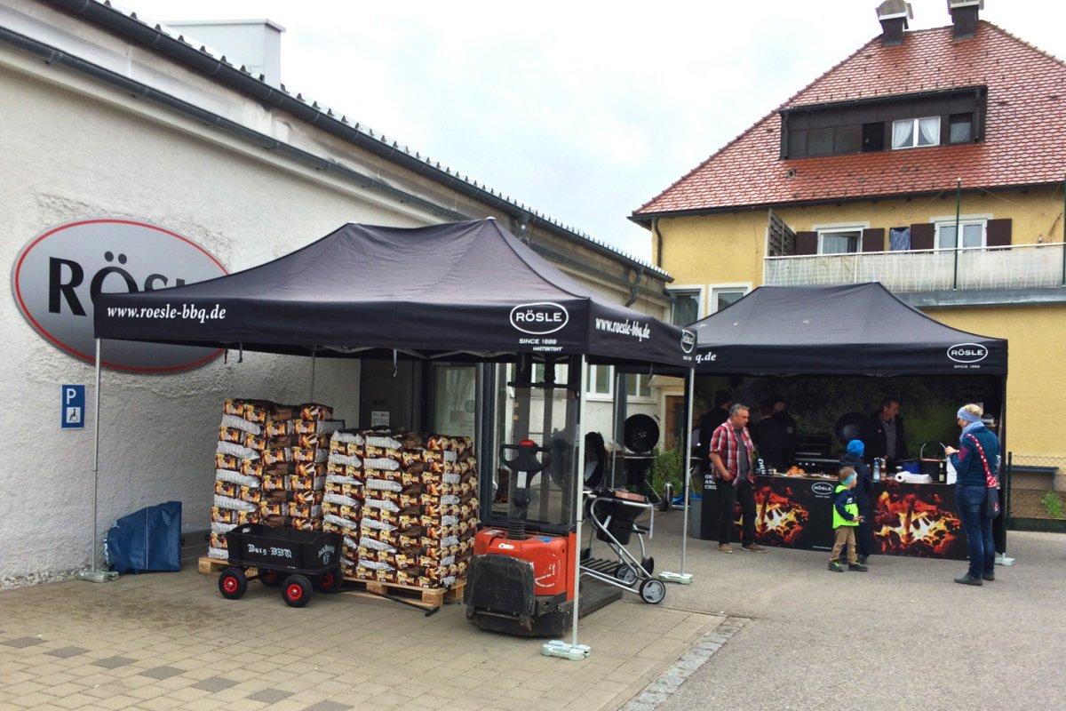 Rösle Gasgrill Marktoberdorf : Saison opening bei der fa rÖsle in marktoberdorf
