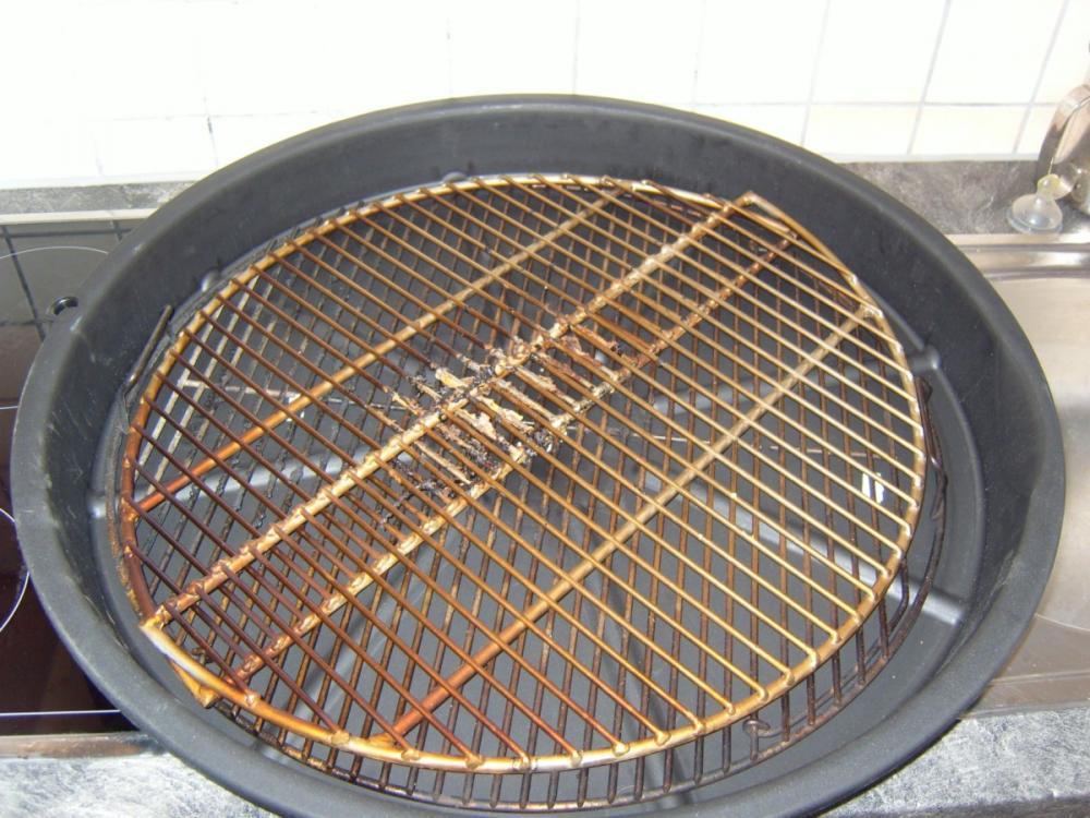 Weber Elektrogrill Rost Reinigen : Kiste zum cm grillrost r einlegen seite grillforum und