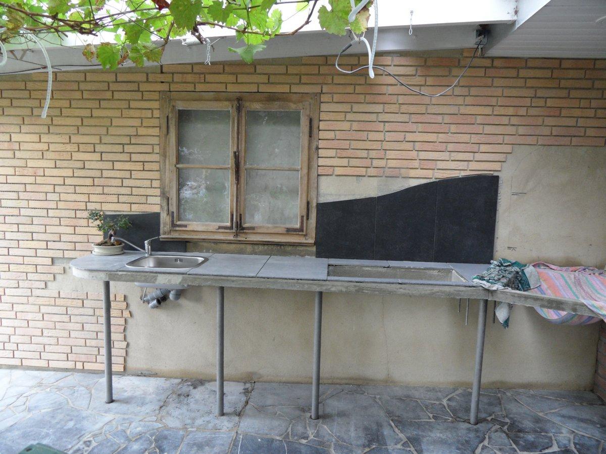 Sommerküche Mit Pizzaofen : Sommerküche mit grill und pizza bzw backofen grillforum und bbq