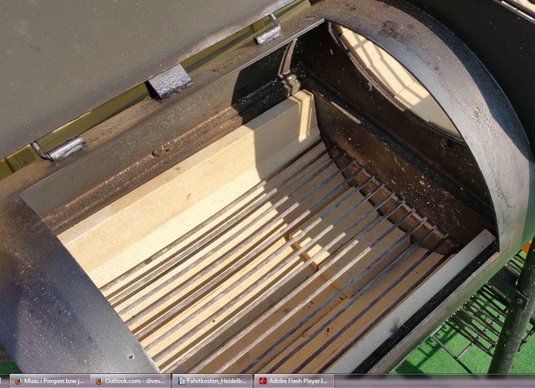pimp my smoker doppelter reverseflow mit tuning plates grillforum und bbq www. Black Bedroom Furniture Sets. Home Design Ideas
