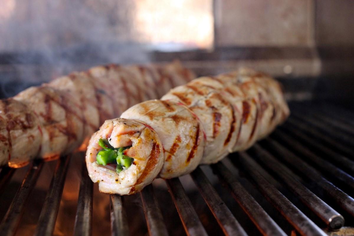 Schweinefilet auf dem Grill.JPG