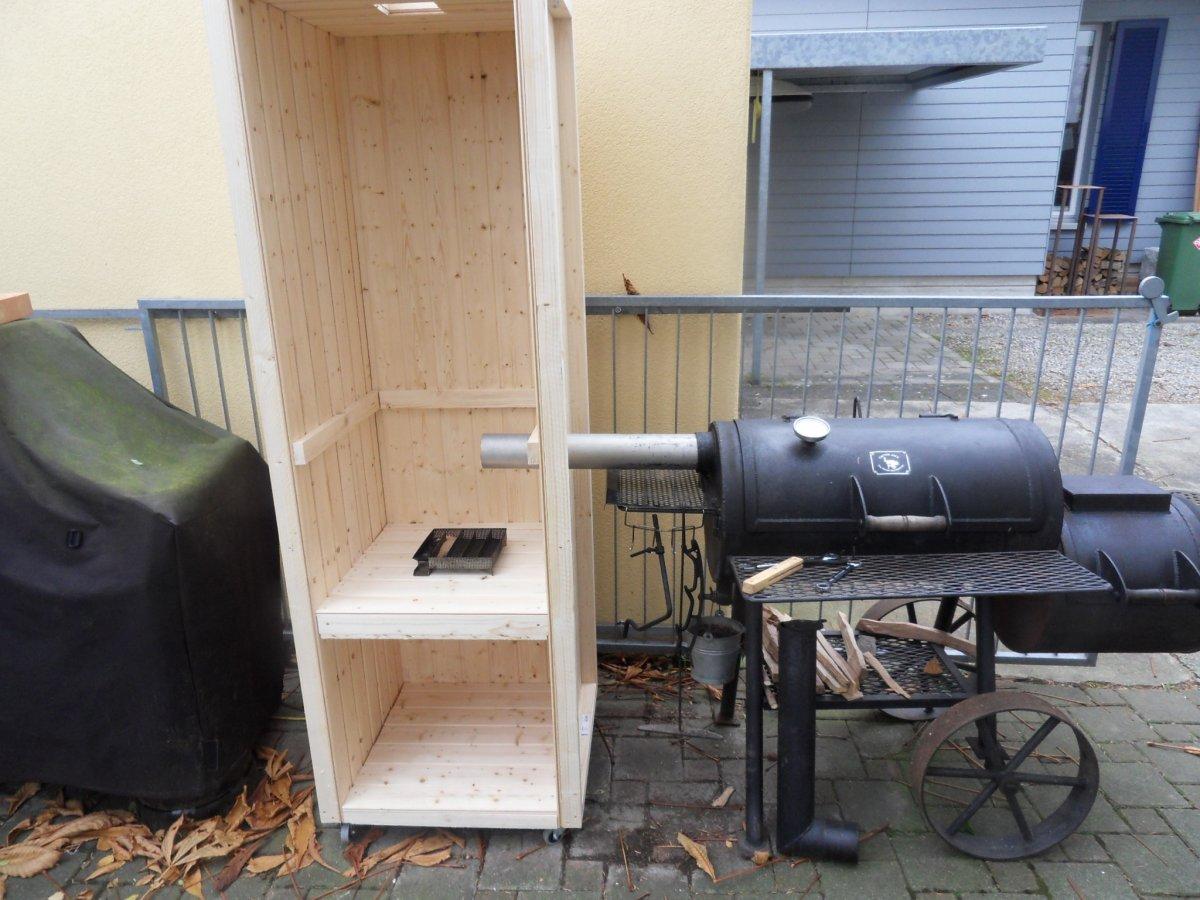 projekt kalt warm r ucherschrank smokertower. Black Bedroom Furniture Sets. Home Design Ideas