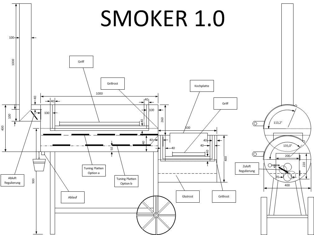 mehr smoker in hessen grillforum und bbq www. Black Bedroom Furniture Sets. Home Design Ideas