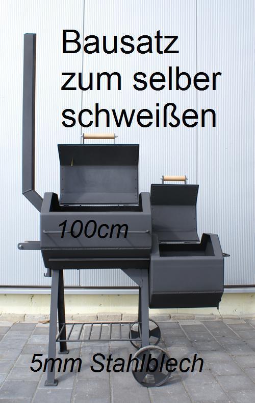 smoker grill bausatz g6 grillbausatz 5mm stahl bbq. Black Bedroom Furniture Sets. Home Design Ideas