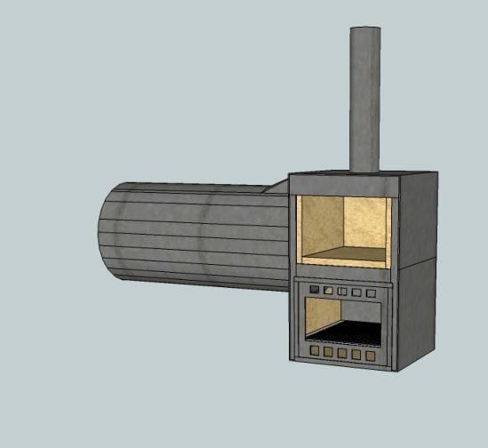 smoker mit schamott auskleiden grillforum und bbq. Black Bedroom Furniture Sets. Home Design Ideas
