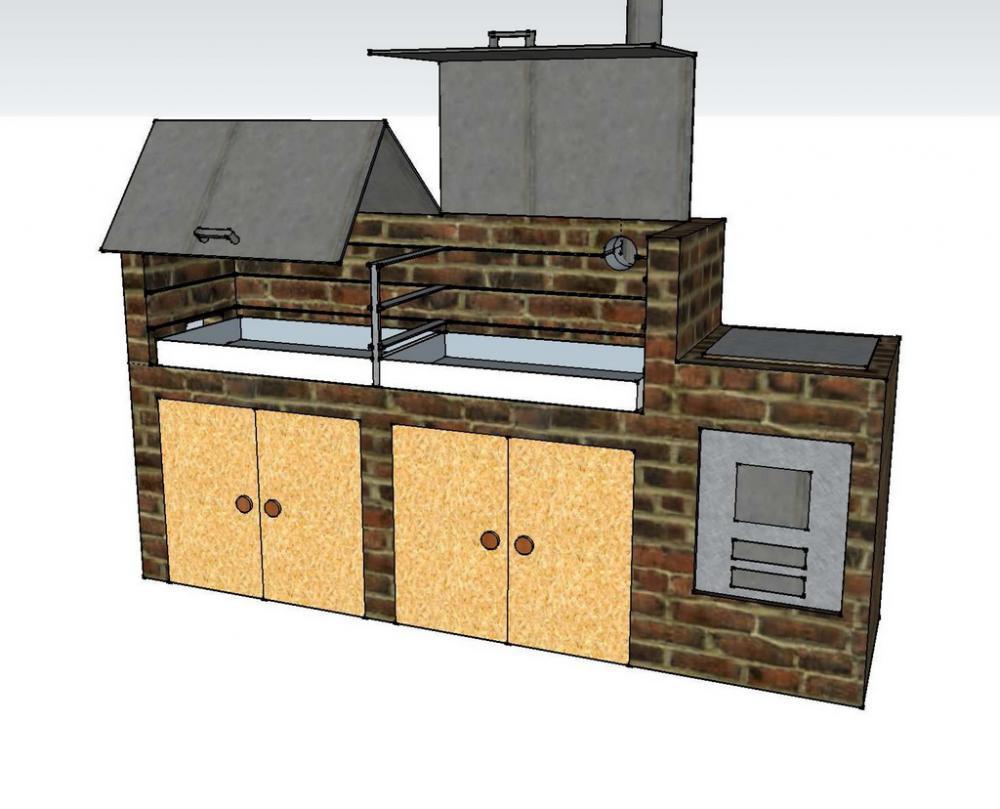 smoker mauern grillforum und bbq. Black Bedroom Furniture Sets. Home Design Ideas