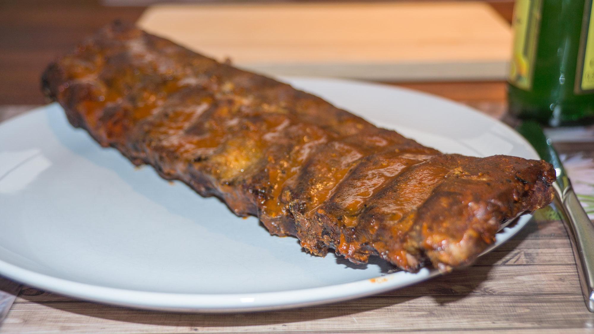 Spareribs Gasgrill Forum : Spare ribs sous vide gefinished auf gasgrill kugelgrill