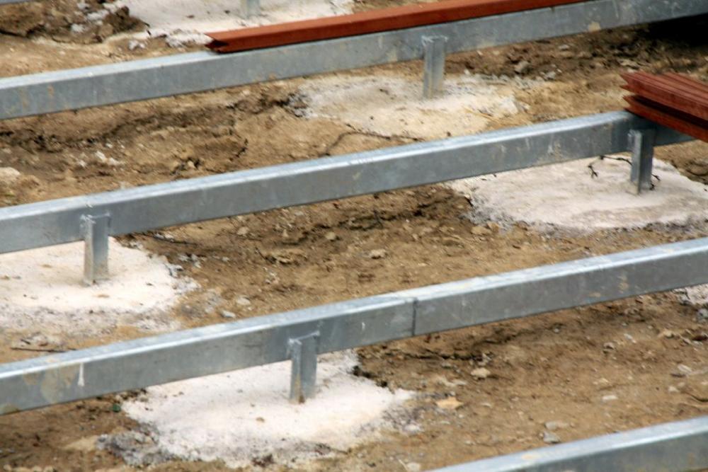 Unterbau Terrasse Kies : Schwimmteich es ist vollbracht! Seite 6 Grillforum
