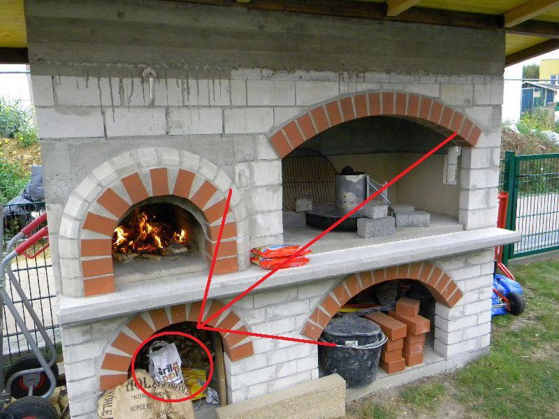 unsere grillkamin backofen kombination seite 10 grillforum und bbq. Black Bedroom Furniture Sets. Home Design Ideas