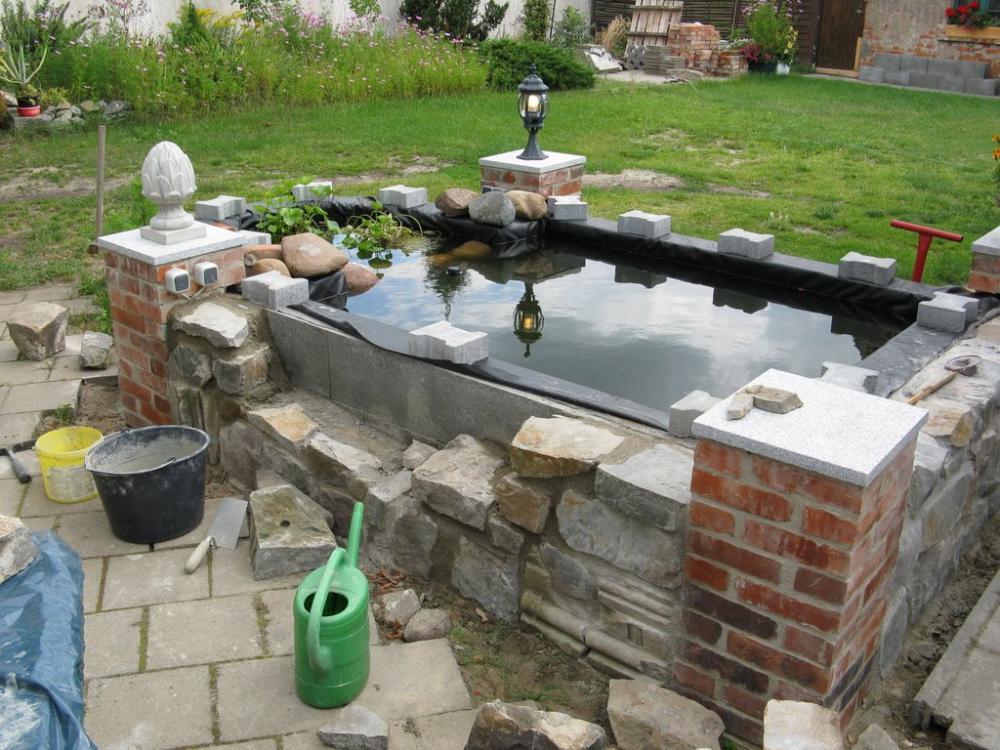 Mein gemauertes grillbauwerk mit barhockern grillforum for Gemauerter gartenteich
