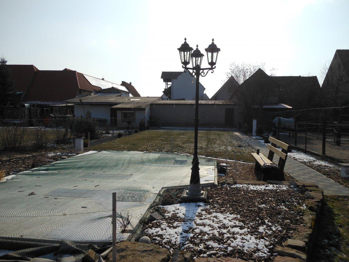 Gartenteich forum zeigt her eure gartenteiche - Gartenteich abdeckung ...