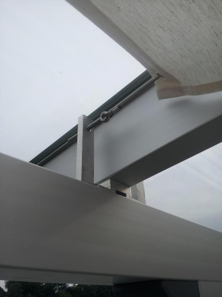 Terrassen Berdachung Selbst Gebaut Grillforum Und Bbq