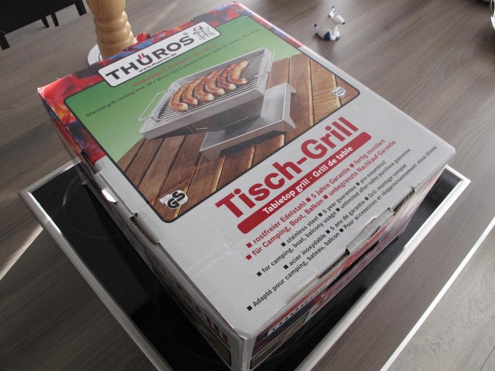 Thüros Elektrogrill Test : Thüros tischgrill grillforum und bbq www.grillsportverein.de