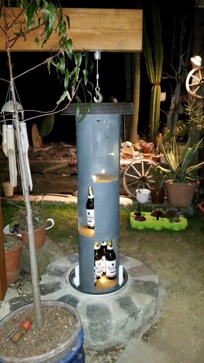 bau eines erde bierk hlschranks grillforum und bbq www. Black Bedroom Furniture Sets. Home Design Ideas