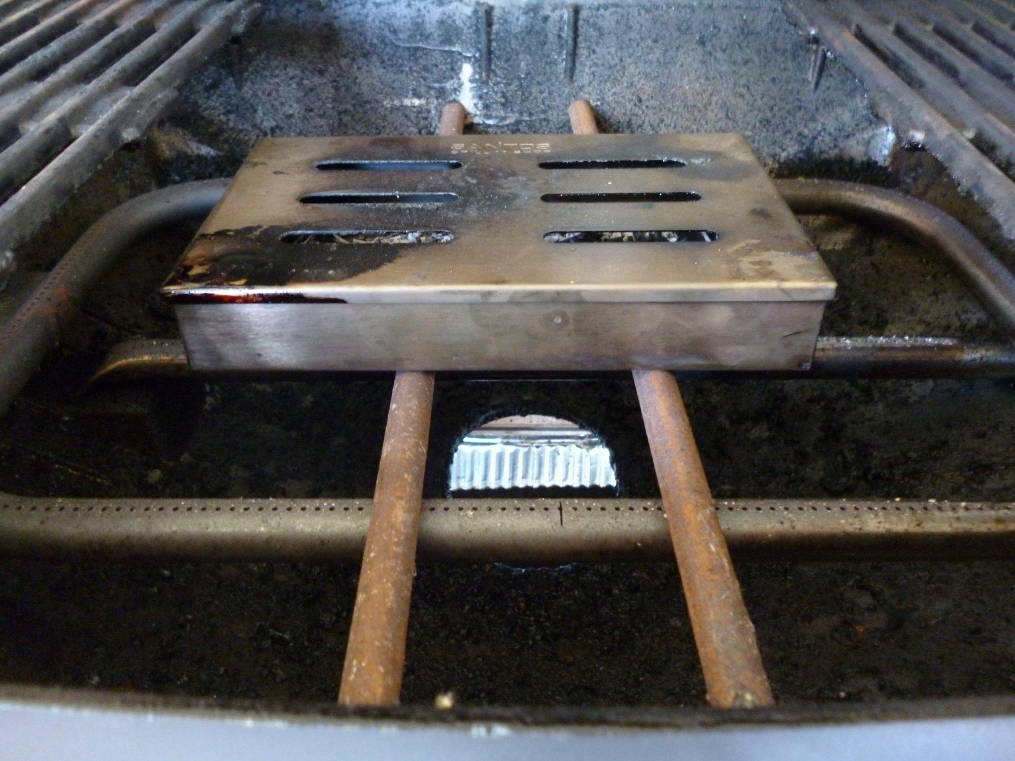 Räucherbox Für Gasgrill Q 3200 : Erfolgreicher räuchertest q grillforum und bbq
