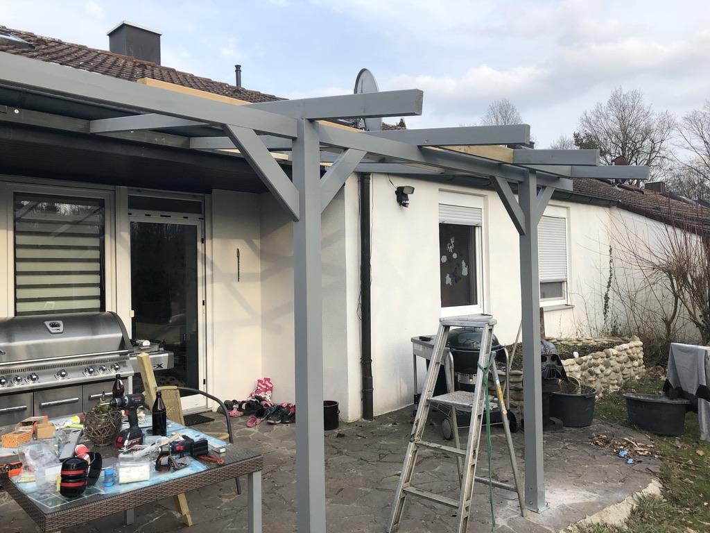 Outdoorküche Arbeitsplatte Xxl : Grillstandüberdachung und dann outdoorküche viele bilder