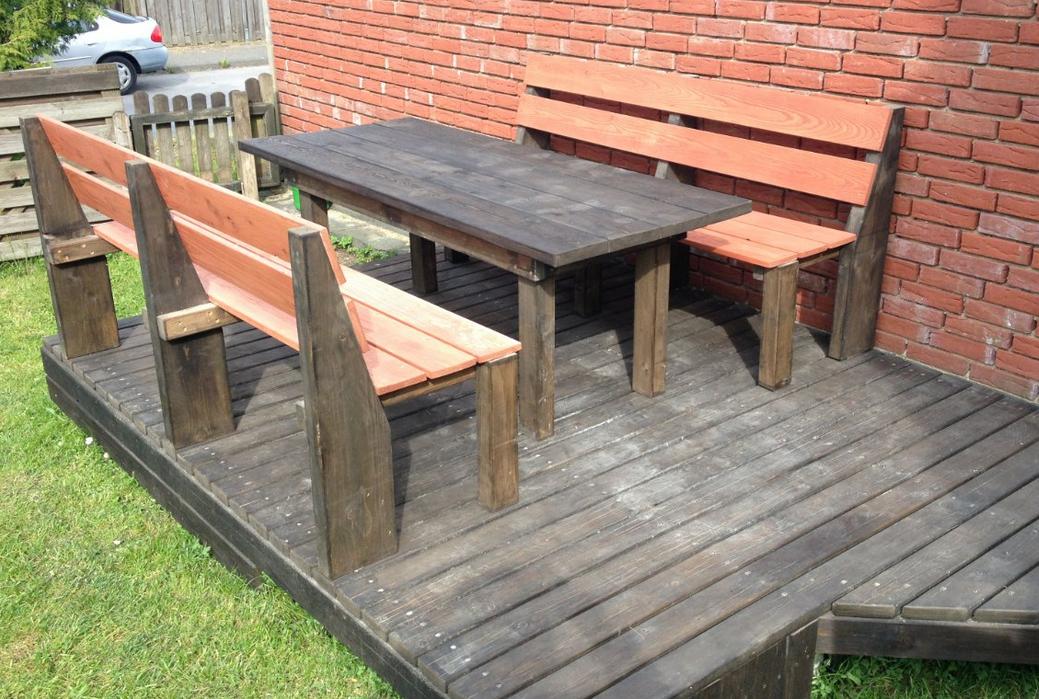 m chte eine kleine terrasse bauen grillforum und bbq. Black Bedroom Furniture Sets. Home Design Ideas