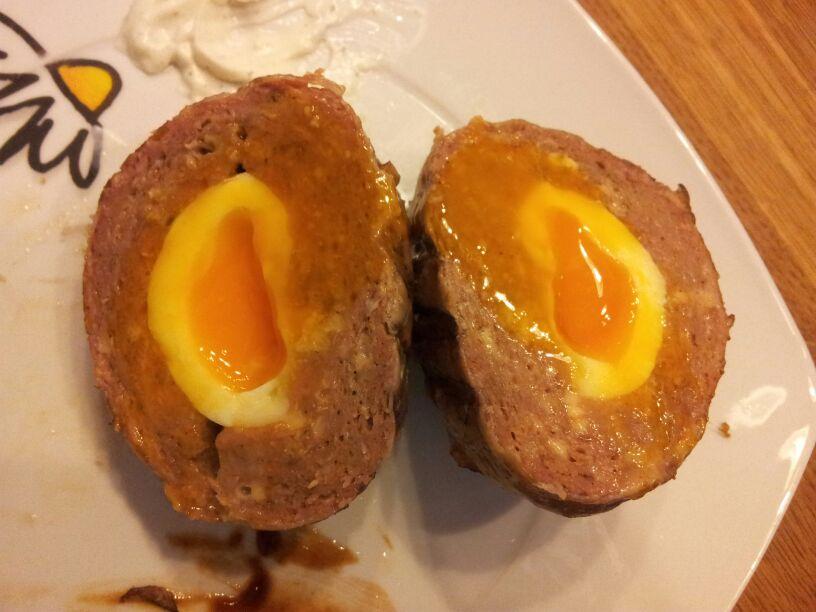 Schottische eier im speckmantel seite 2 grillforum und - Eier platzen beim kochen ...