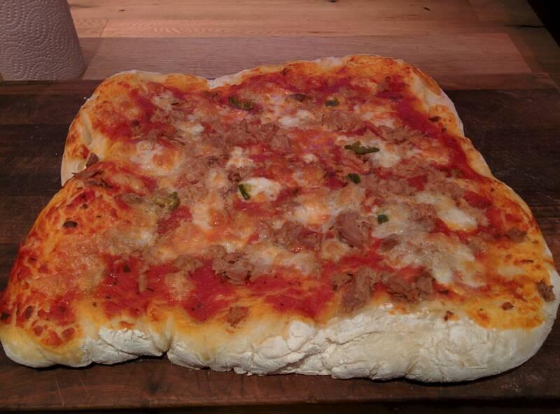 Pizza Verbrannt