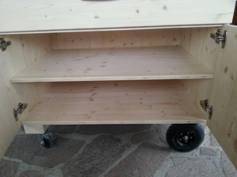 grill beistelltisch ist fertig grillforum und bbq www. Black Bedroom Furniture Sets. Home Design Ideas
