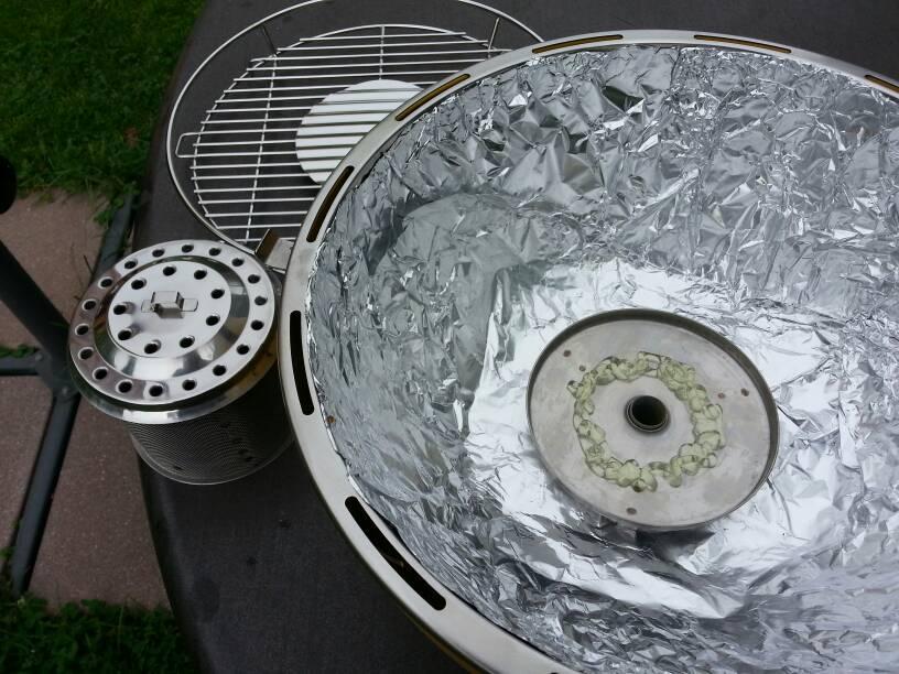 lotusgrill der rauchfreie holzkohlegrill grillforum und. Black Bedroom Furniture Sets. Home Design Ideas