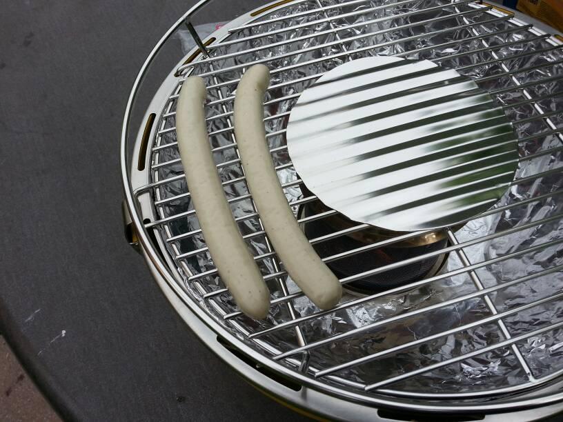 Rauchfreier Holzkohlegrill Opinie : Lotusgrill der rauchfreie holzkohlegrill grillforum und bbq
