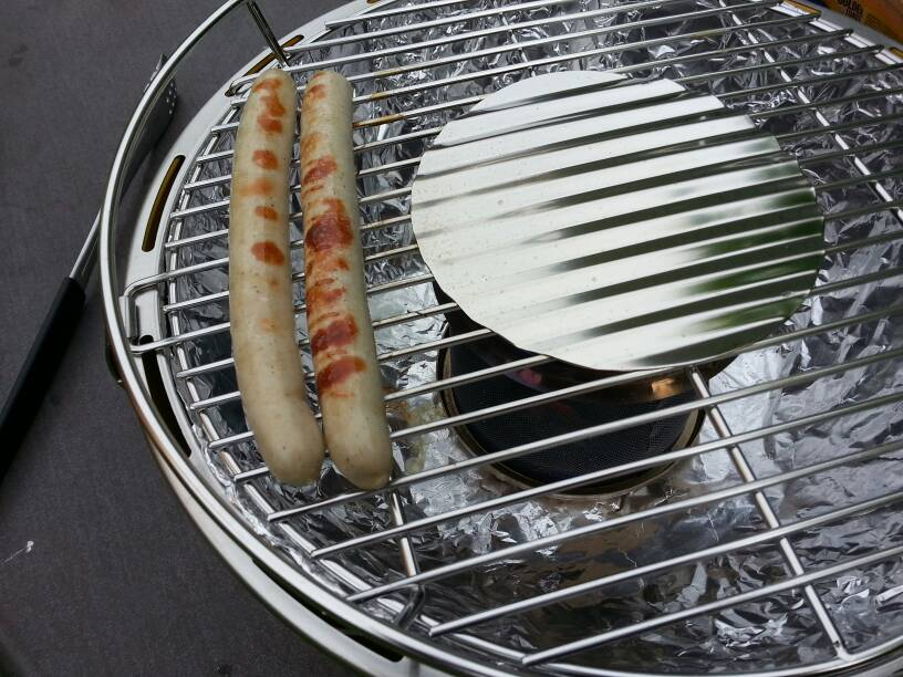 Rauchfreie Holzkohlegrill Test : Lotusgrill der rauchfreie holzkohlegrill grillforum und bbq