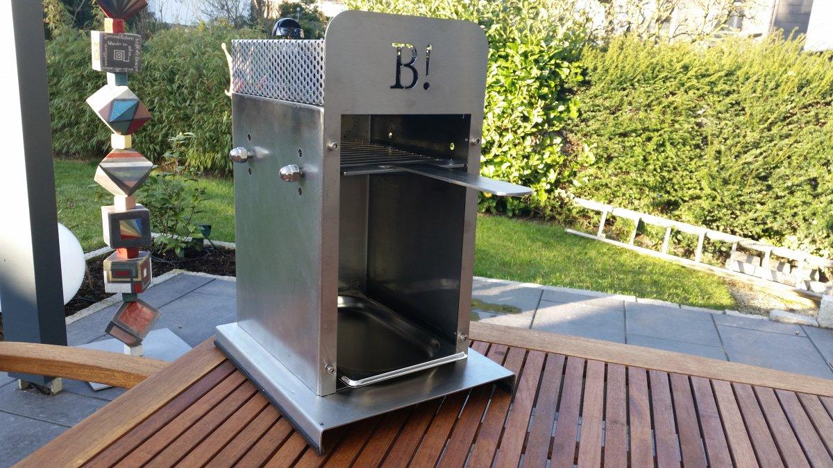 selbstbau eines oberhitze grills seite 22 grillforum und bbq. Black Bedroom Furniture Sets. Home Design Ideas