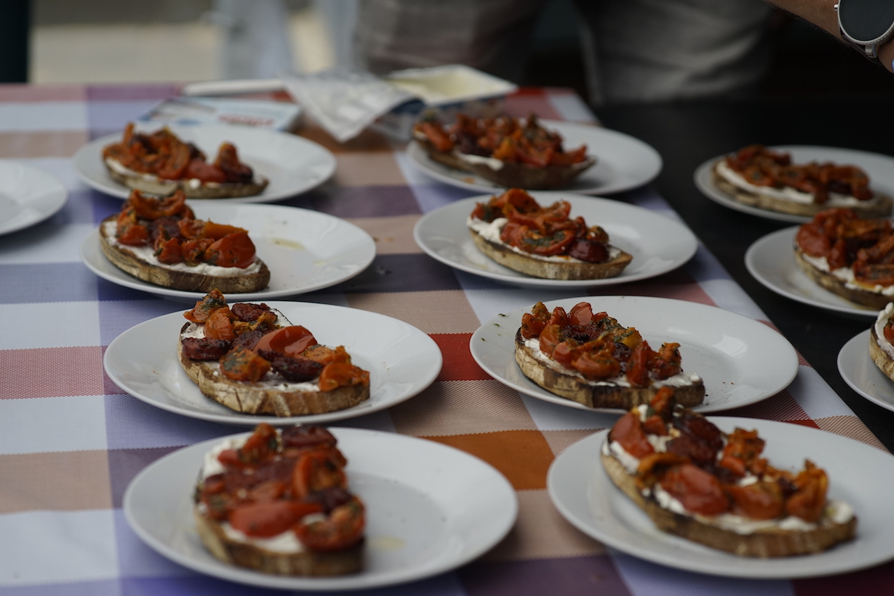 Vorspeise Chorizo Brote.JPG