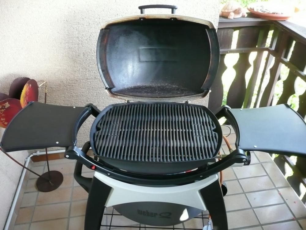 Weber Holzkohlegrill Rost Reinigen : Weber q grillrost rostet grillforum und bbq