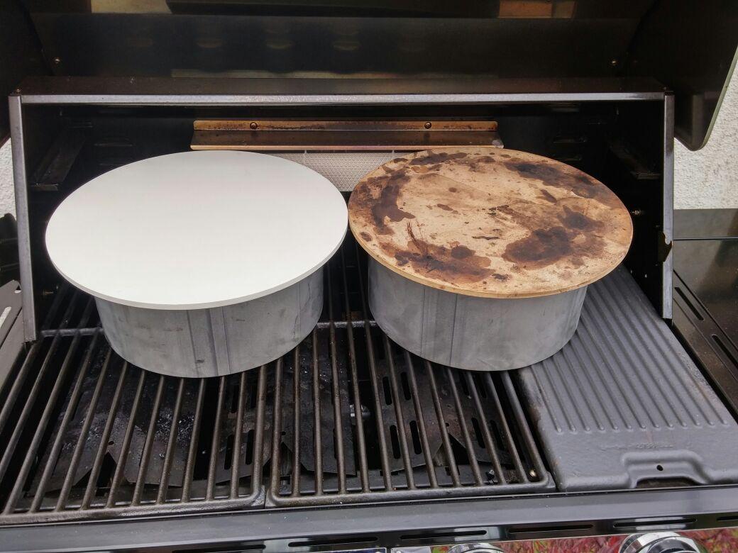 Pizzastein Für Gasgrill : Pizzastein im gasgrill welche grösse grillforum und bbq