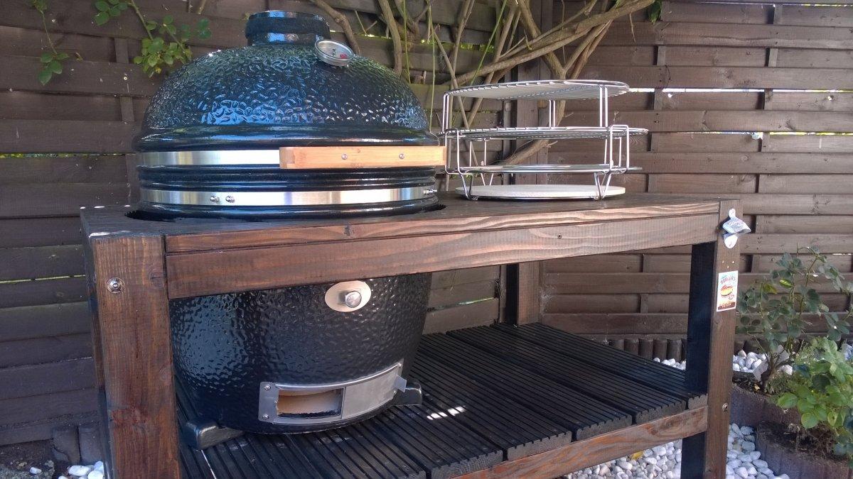 kamado grill tisch