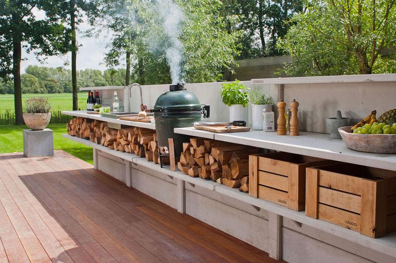aussenküche bei www.wwoo.nl | grillforum und bbq - www ... - Aussen Küche